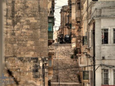 Una strada di Malta