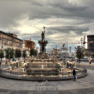Fontana del Nettuno a Napoli