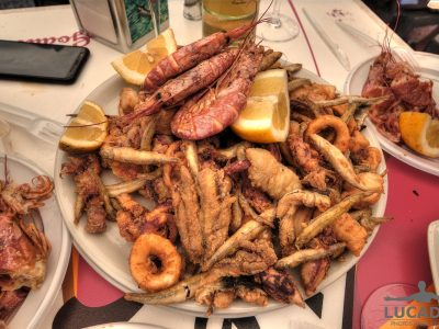 Frittura mista a Palermo