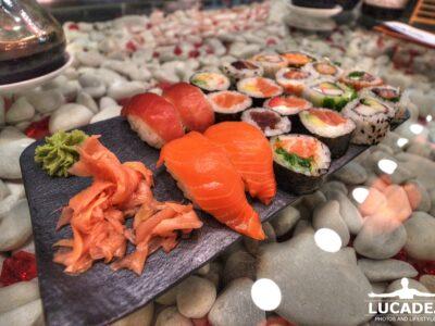 Piatto di sushi a Palma