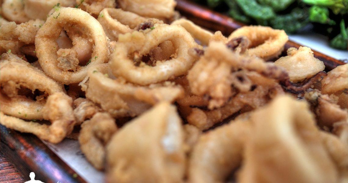 Calamari fritti ad Ibiza