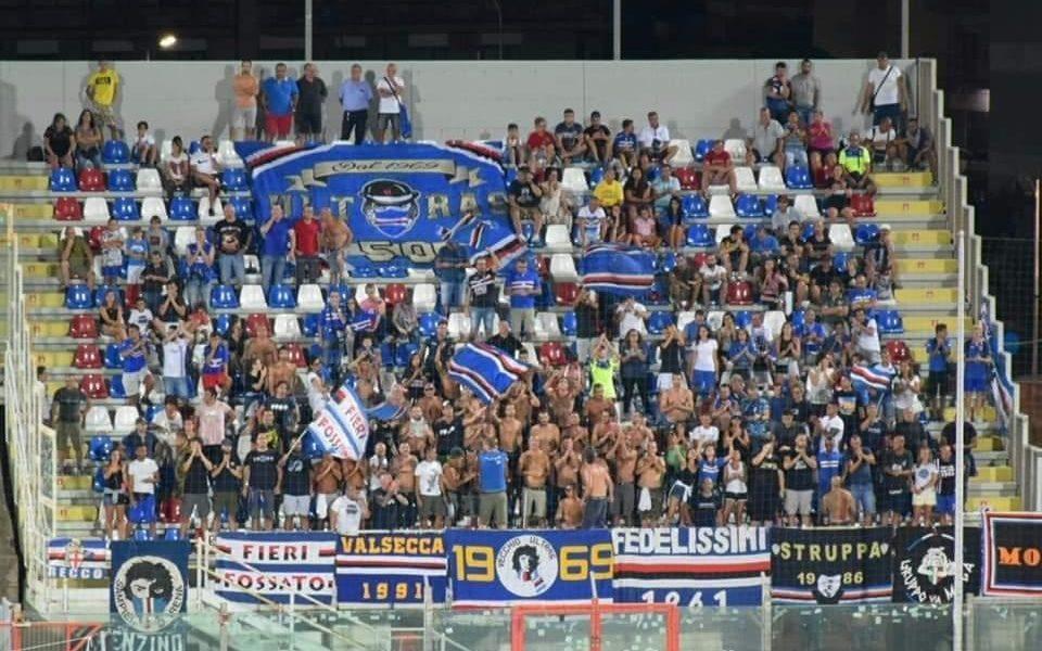 Crotone-Sampdoria 2019/2020, coppa Italia