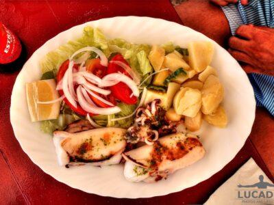 Calamaro alla griglia in Spagna