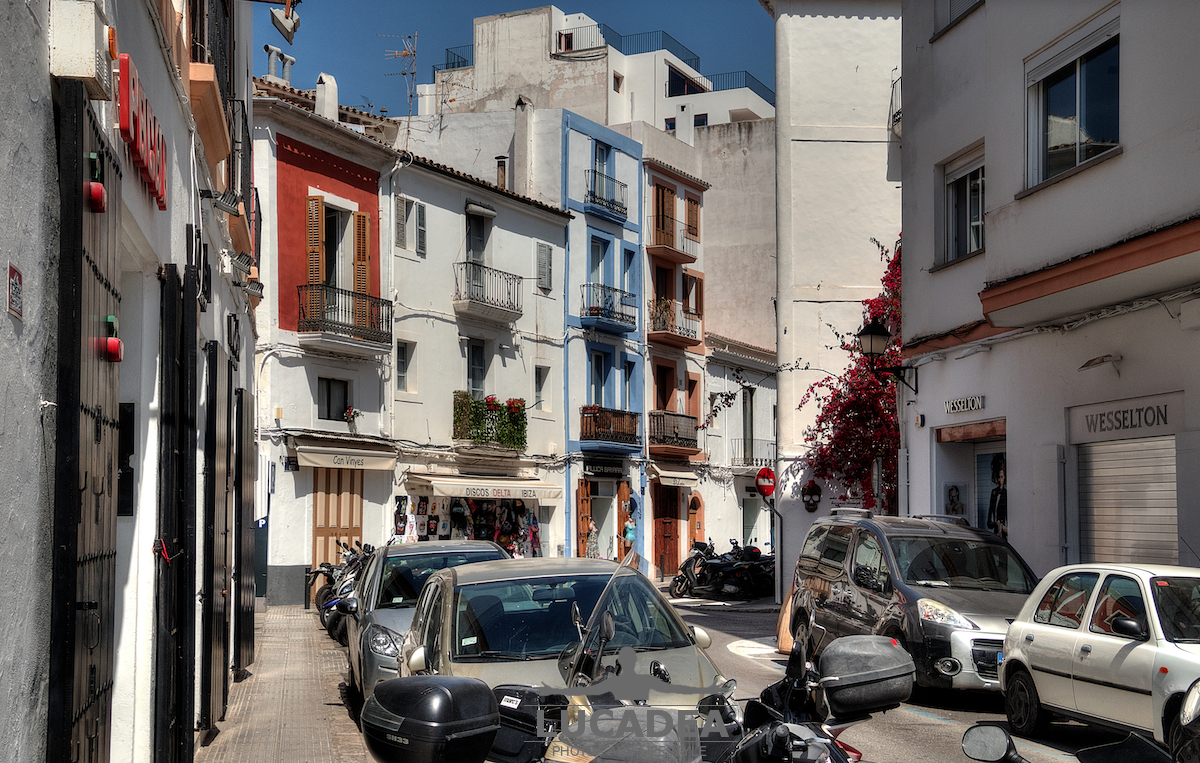 Case del centro di Ibiza