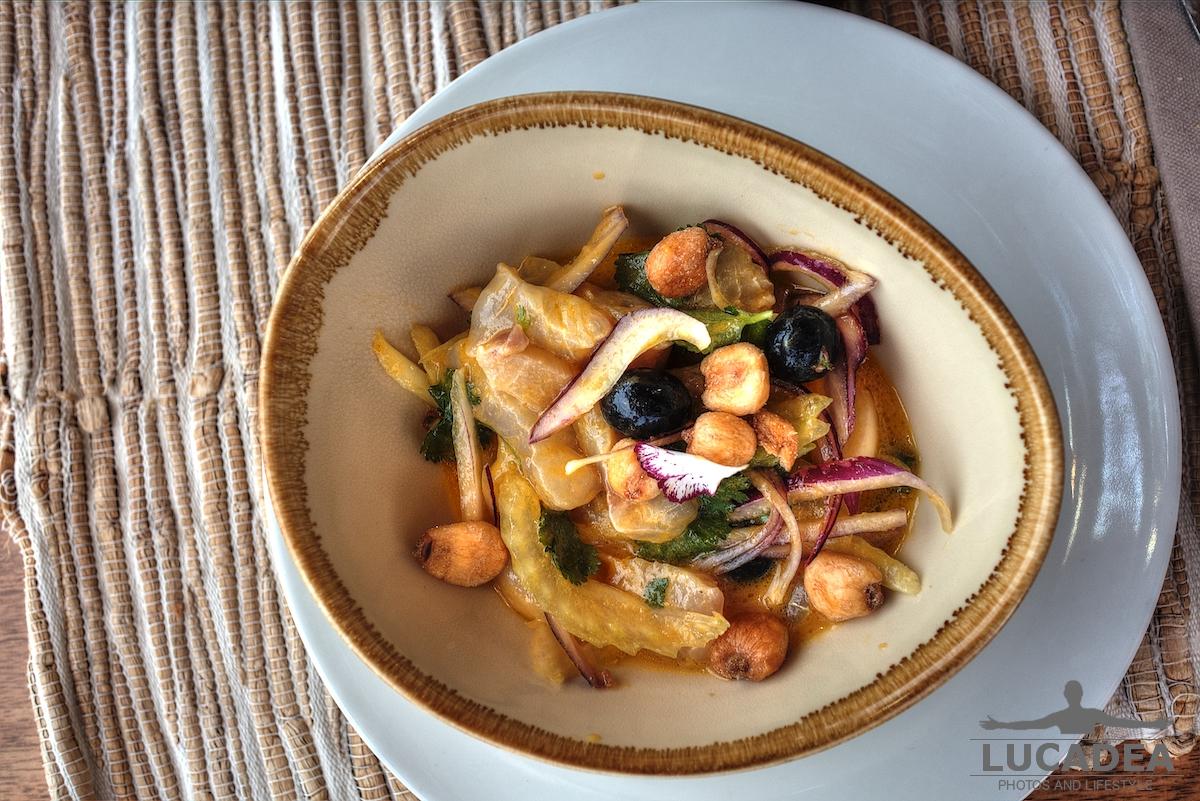 Ceviche di pesce ad Ibiza