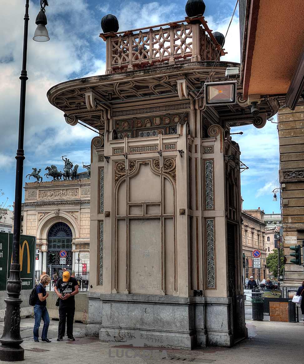 Chiosco Ribaudo di Palermo