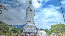 La pagoda Linh Ung vicino a Da Nang
