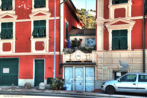 Particolare di una casa a Sant'Anna