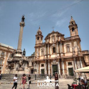 Piazza San Domenico a Palermo