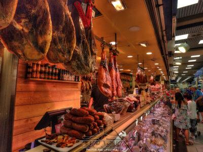 Salumificio al Mercato dell'Olivar