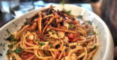 Spaghetti al fiammifero a Palermo