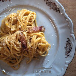 Spaghetti alla carbonara fatti a casa