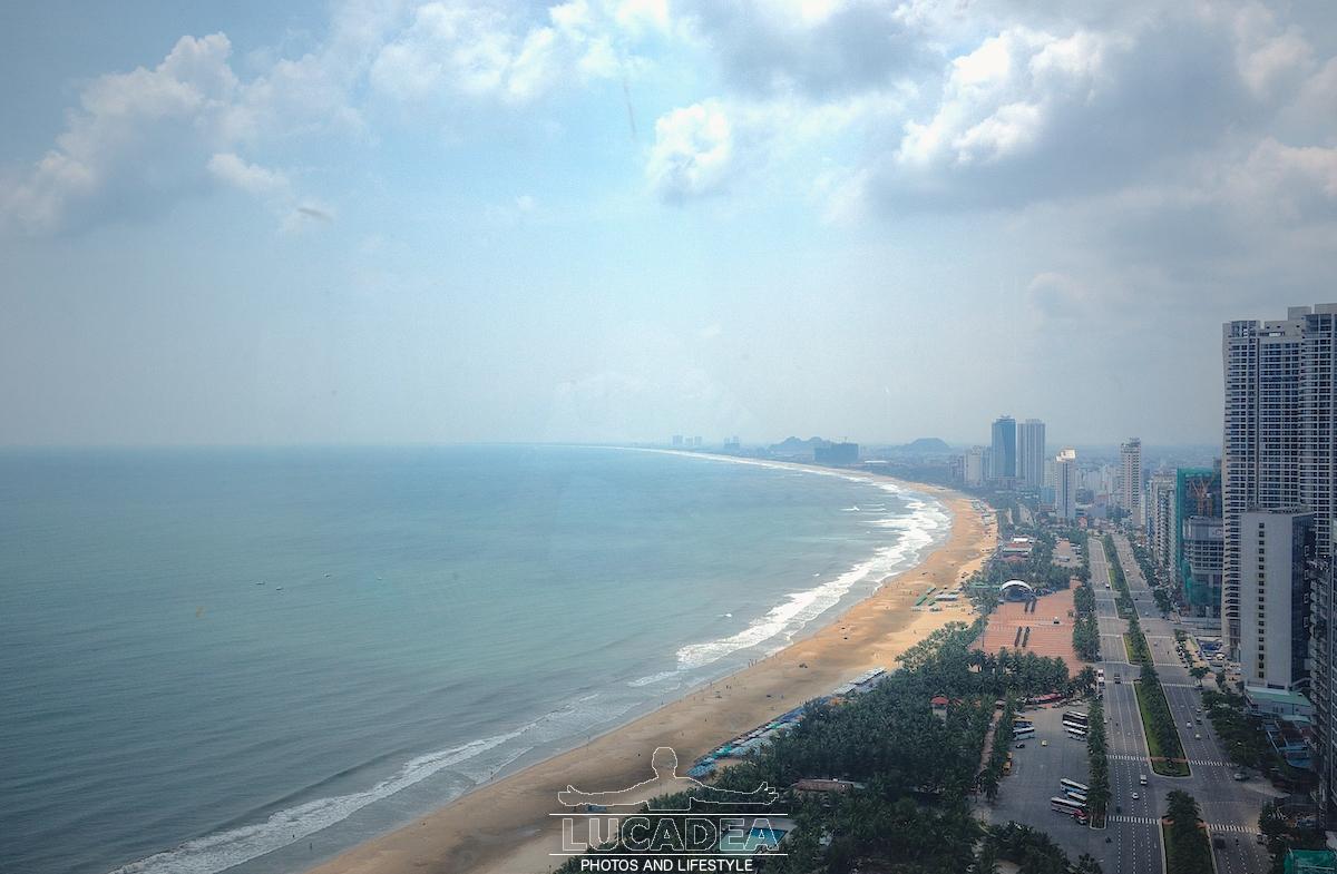 Vista dall'hotel Four Points a Da Nang