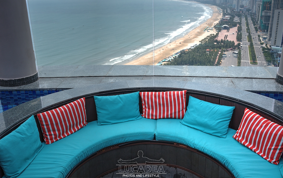 Vista dall'hotel Four Points a Da Nang