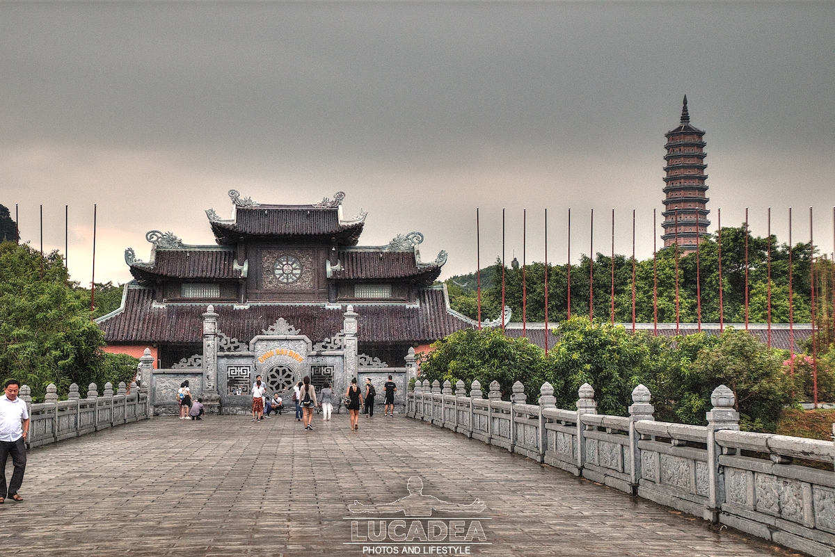 Tempio Bai Dinh in Vietnam
