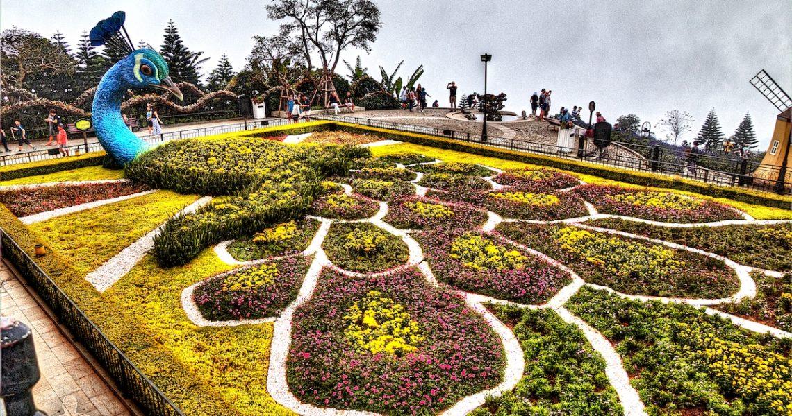 Giardini a Ba Na Hills