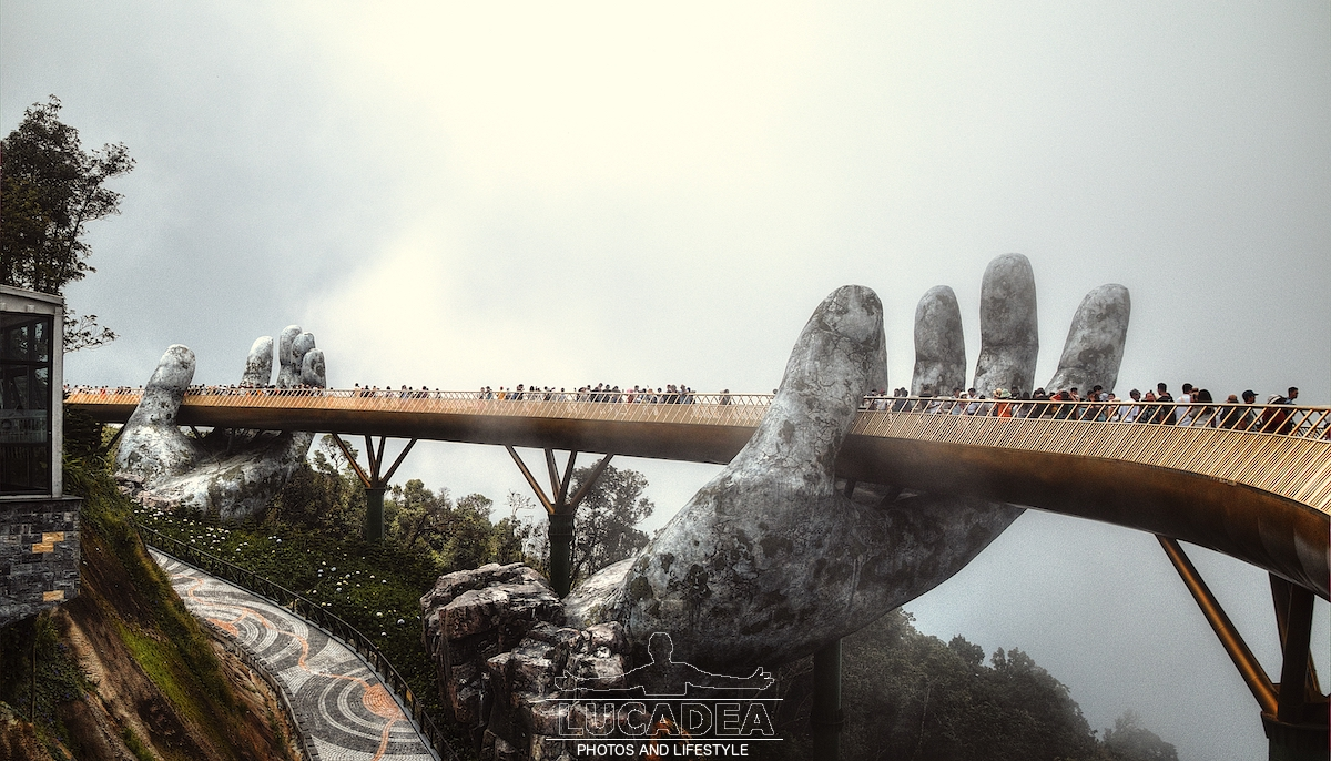 Golden Bridge a Ba Na Hills