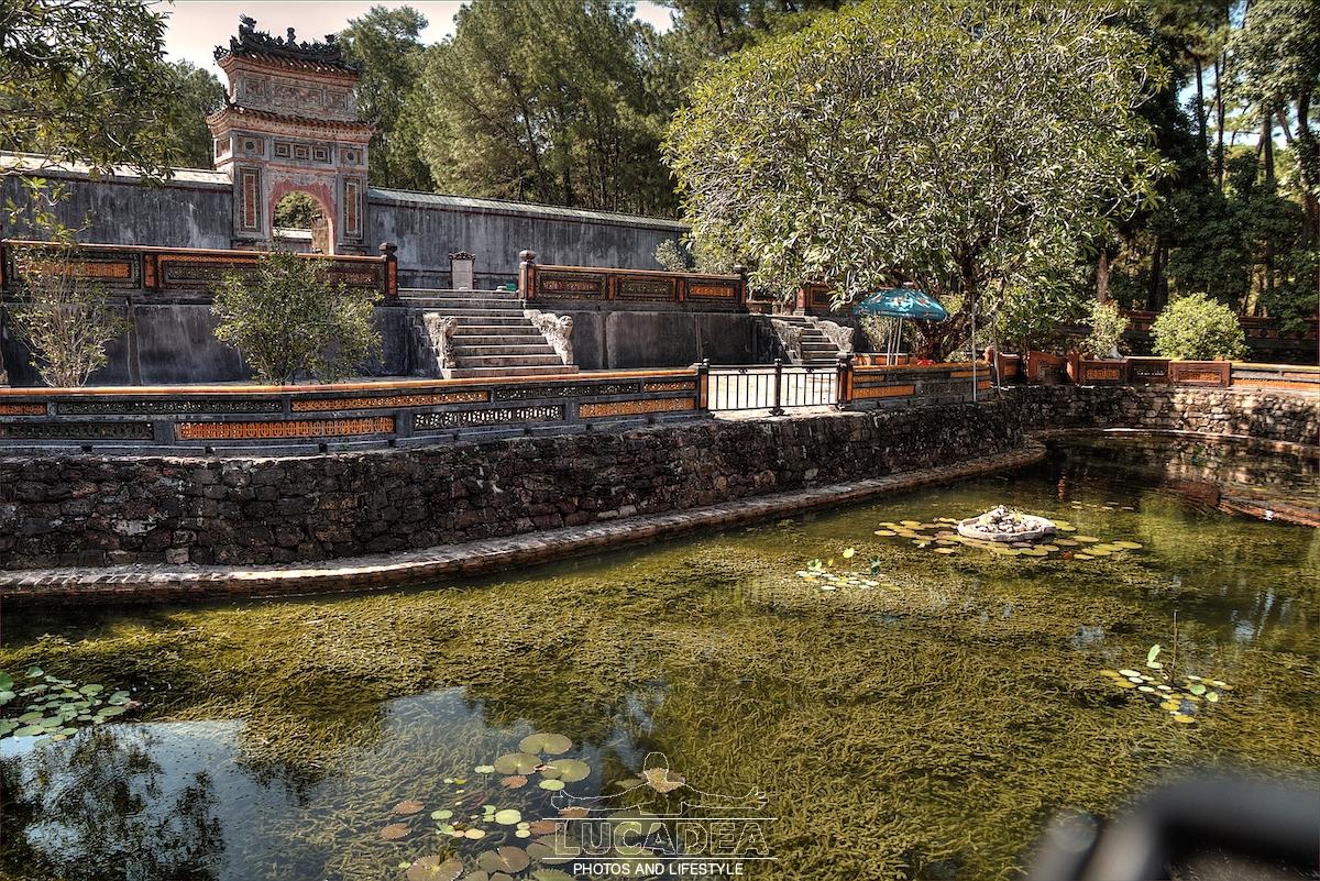 La tomba di Tu Duc a Hue