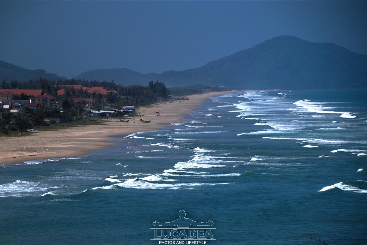 Lang Co e la sua spiaggia
