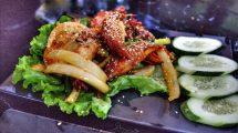 Piccoli calamari fritti in Vietnam