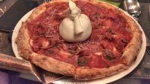 Pizza crudo di Parma e Burrata