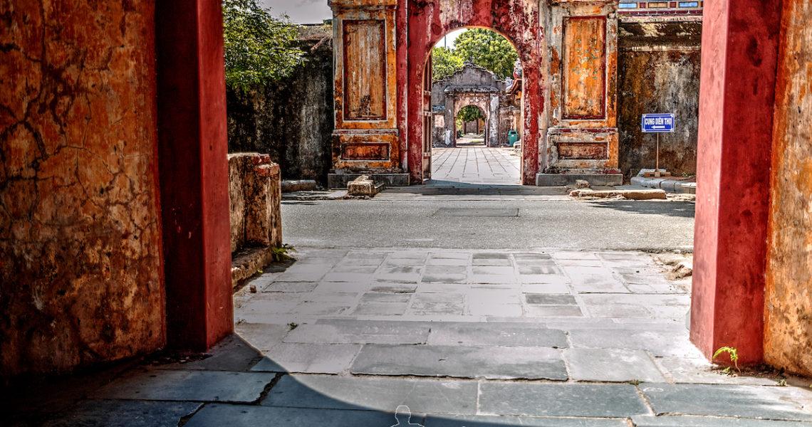 Portali della citta Imperiale di Hue