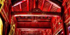 Porticato rosso della Città Imperiale