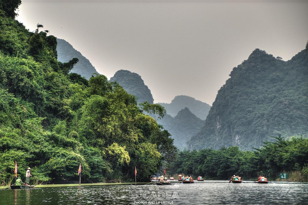 Trang An: le grotte e i laghetti di questo luogo fantastico