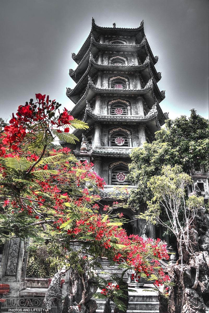 La torre Xa Loi delle Montagne di Marmo