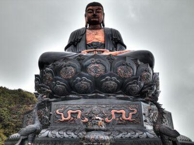 Buddha a Fansipan in Vietnam
