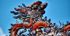 Drago su un tetto di Hue
