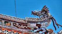 Fenice sul tetto a Hue
