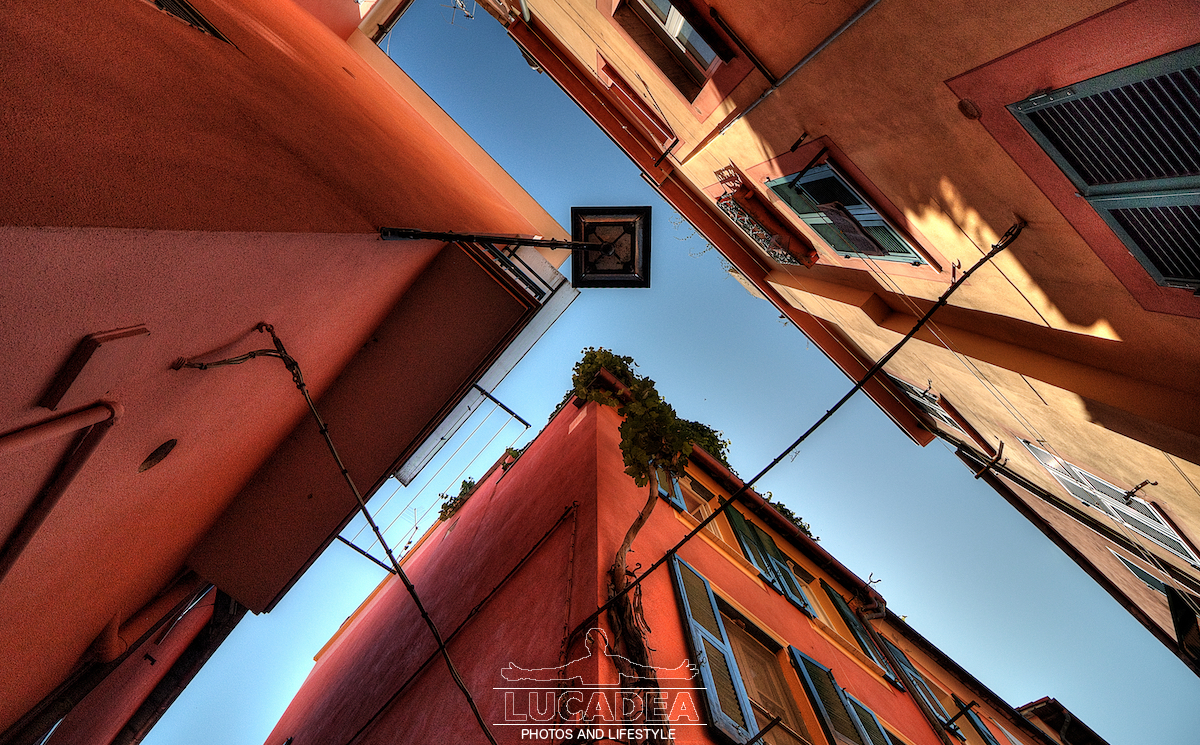 Linee dei tetti dei vicoli