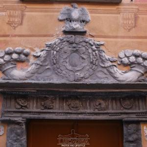 Portali in ardesia a Sestri Levante