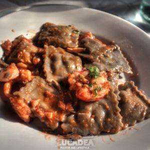 Ravioli di pesce da Sergio
