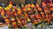 Spiedini di carne ad Hoi An