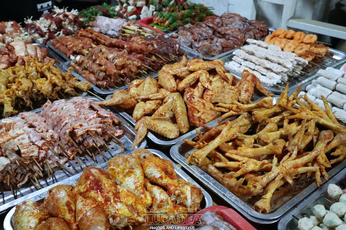 Spiedini di carne a Sa Pa
