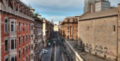 Via XX Settembre dal Ponte Monumentale