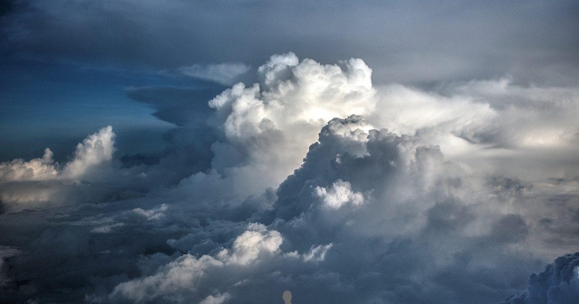Nuvole dall aereo