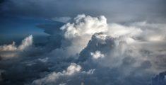 Nuvole dall'aereo