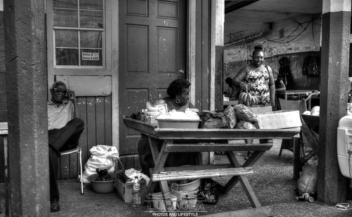 Vita quotidiana a Castries, Santa Lucia