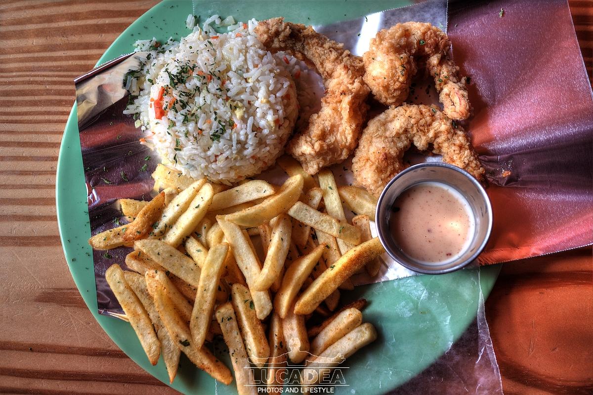 Gamberi fritti ai Caraibi