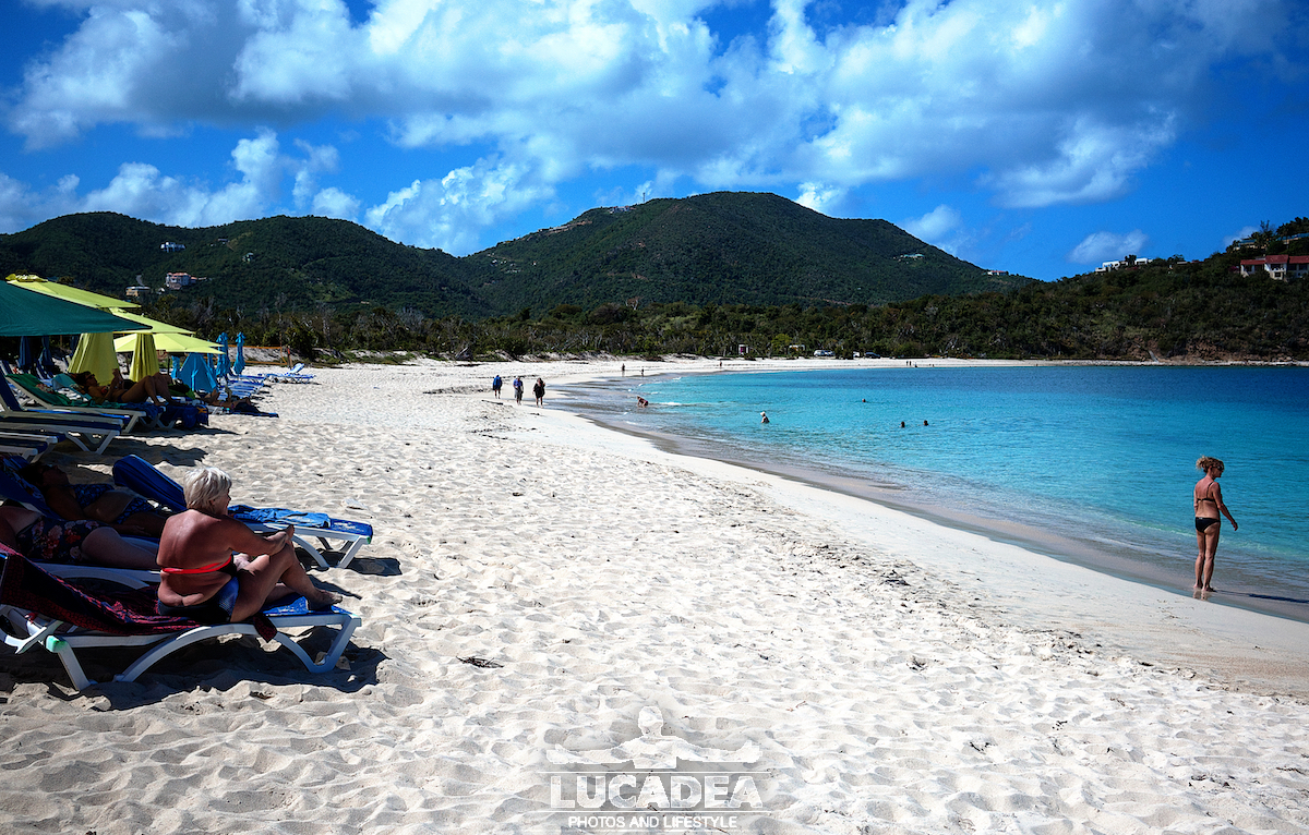Long Bay beach a Tortola