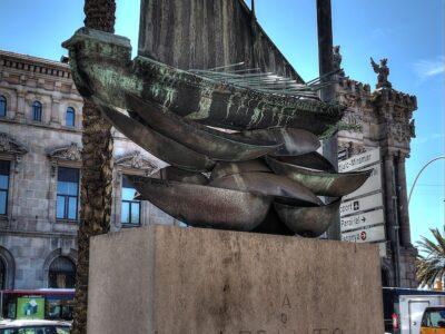 Monumento su Lepanto a Barcellona