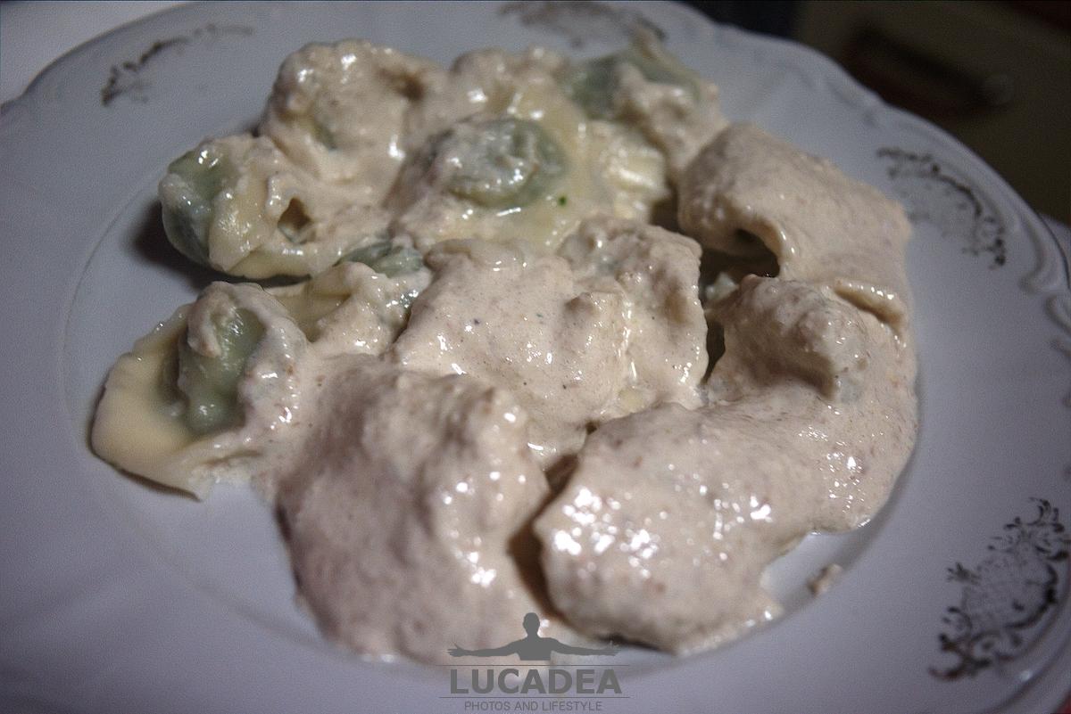 Pansoti alla salsa di noci