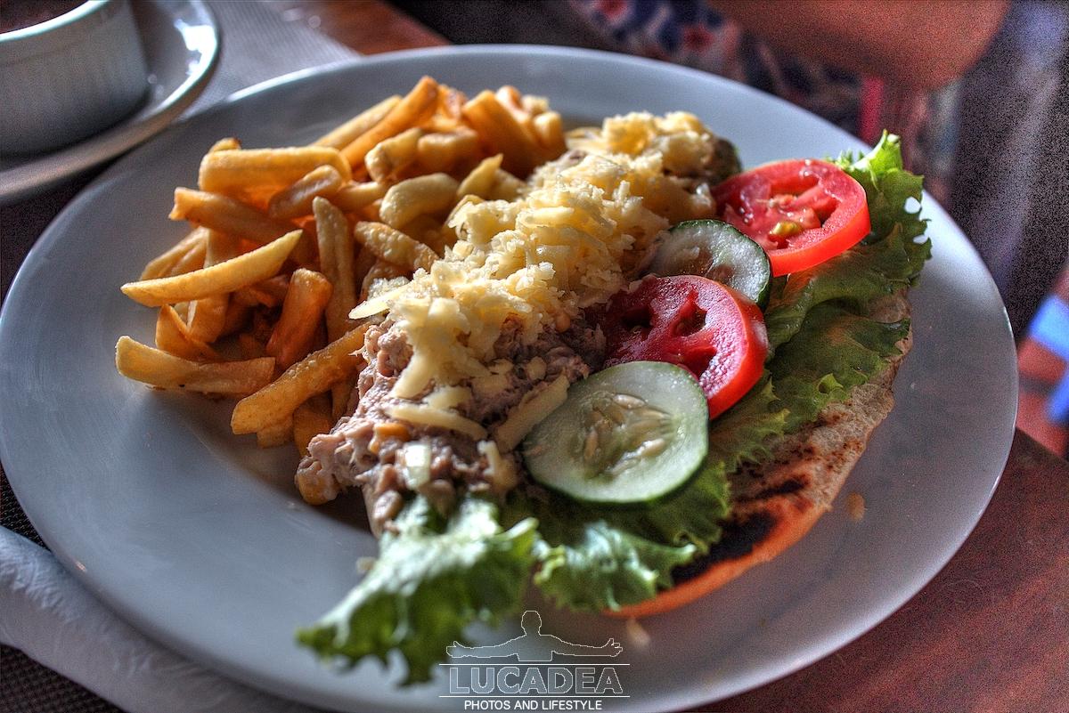 Sandwich al tonno a Barbados