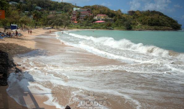 Spiagge da sogno: Viegie Beach a Santa Lucia
