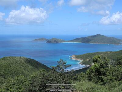 Vista di una spiaggia Caraibica