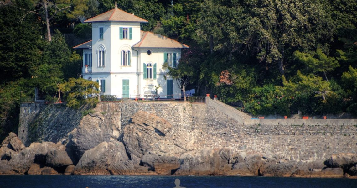 Casa sul mare del Golfo Paradiso