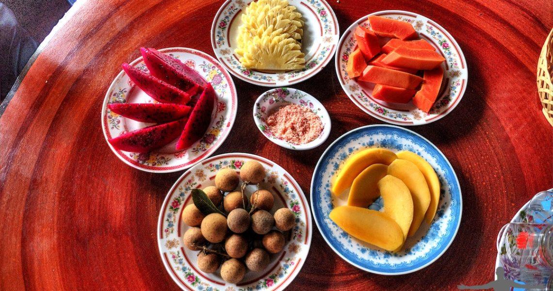 Frutta tropicale in Vietnam